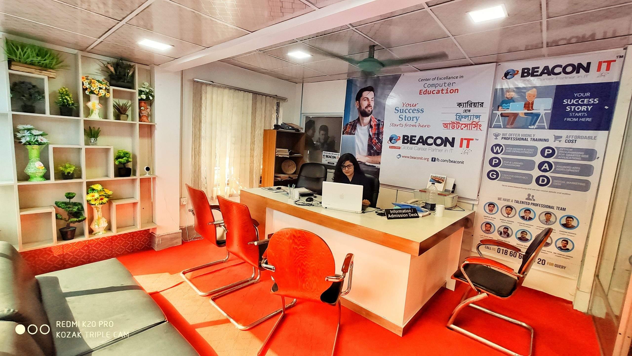 1. information and admission desk